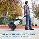 Mount-It! Folding Luggage Cart and Dolly | 77 Lb