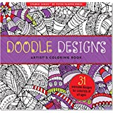 Doodle Designs Adult Coloring Book (31 stress-relieving designs)