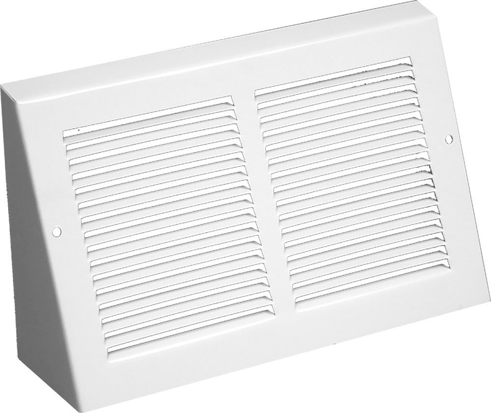 Triangular Extended Baseboard Return Air Grill (30'' x 6'' Duct Opening)