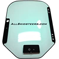 Front Door Glass for M-Series Bobcat Skid Steers | Replaces OEM #7120401