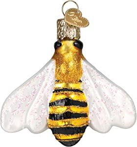 Old World Christmas Honey Bee Glass Blown Ornament