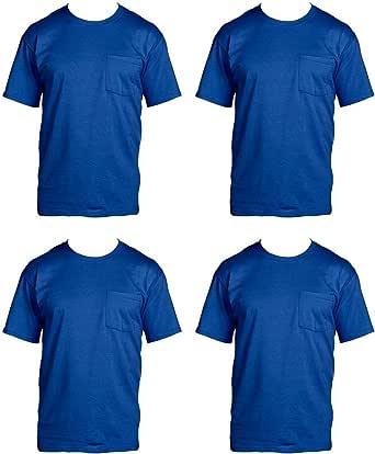 Fruit of the Loom – Camiseta de 4-Pack de Bolsillo Camisetas: Amazon.es: Ropa y accesorios
