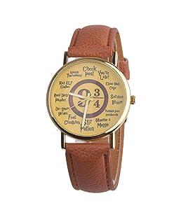 Men Women Number Letters Unisex Fashion Pointer Quartz Date Shopping Party Wrist Watch