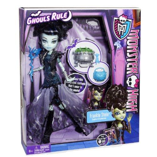 Frankie Monsters High (Monster High Ghouls Rule Frankie Stein Doll)