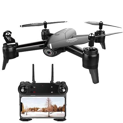 FPV RC Drone, 1920 * 1080P HD Wi-Fi Quadcopter de Cámara Gran ...