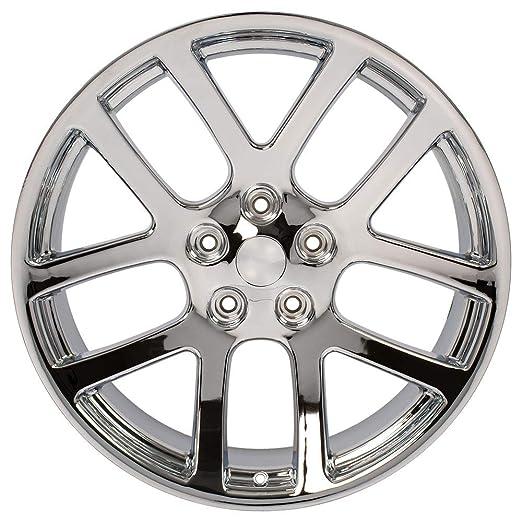 amazon oe wheels 22 inch fits chrysler aspen dodge dakota Dodge Ram Love amazon oe wheels 22 inch fits chrysler aspen dodge dakota durango ram 1500 ram srt style dg51 22x10 rims chrome set automotive