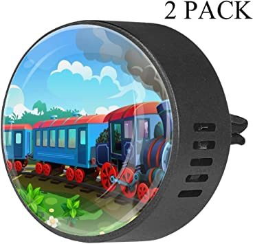 Tren, caricatura Clip de ventilación de difusor de vidrio para ...