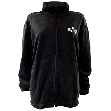 Amazon.com: Nurse Embroidery Women's Zip-Up Fleece Jacket - Small ...