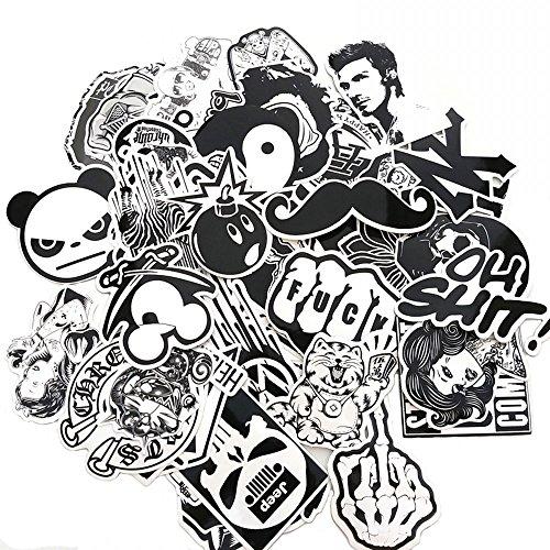 Black And White Stickers Amazon Com