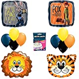 Zootopia Birthday Party Balloon Decoration Kit LIONS TIGERS TOO
