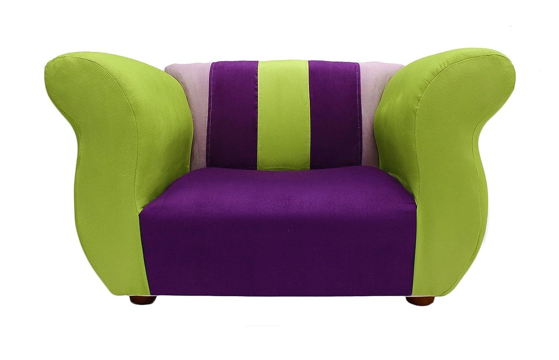 Amazon: KEET Sofa And Chair Fancy Kid's Set, Purple/Green: Baby