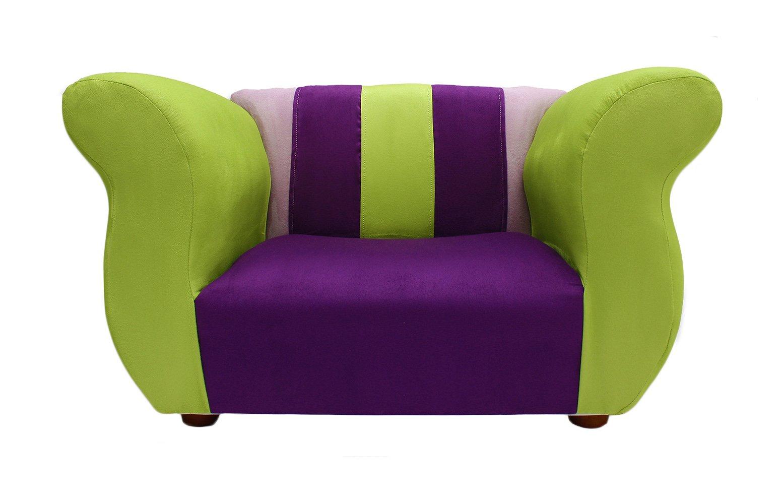 KEET Fancy Kid's Chair, Purple/Green