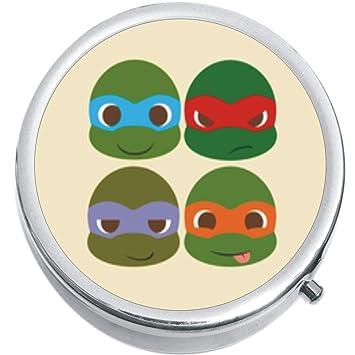 Amazon.com: Las tortugas Ninja médica píldora caja: Health ...
