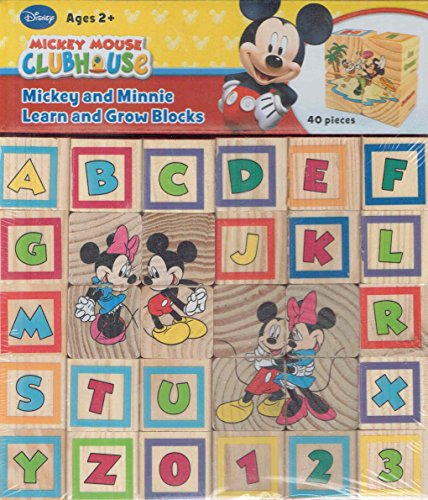 - Mickey and Minnie Learn and Grow Blocks