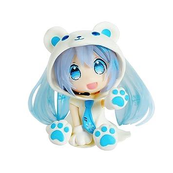 Amazon.com: 1 caja Hatsune Miku acción figuras, adornos ...