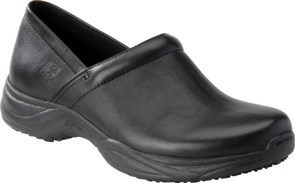 Pro-Step Men's Barnett Slip-on Shoes,Black Leather,11 M US