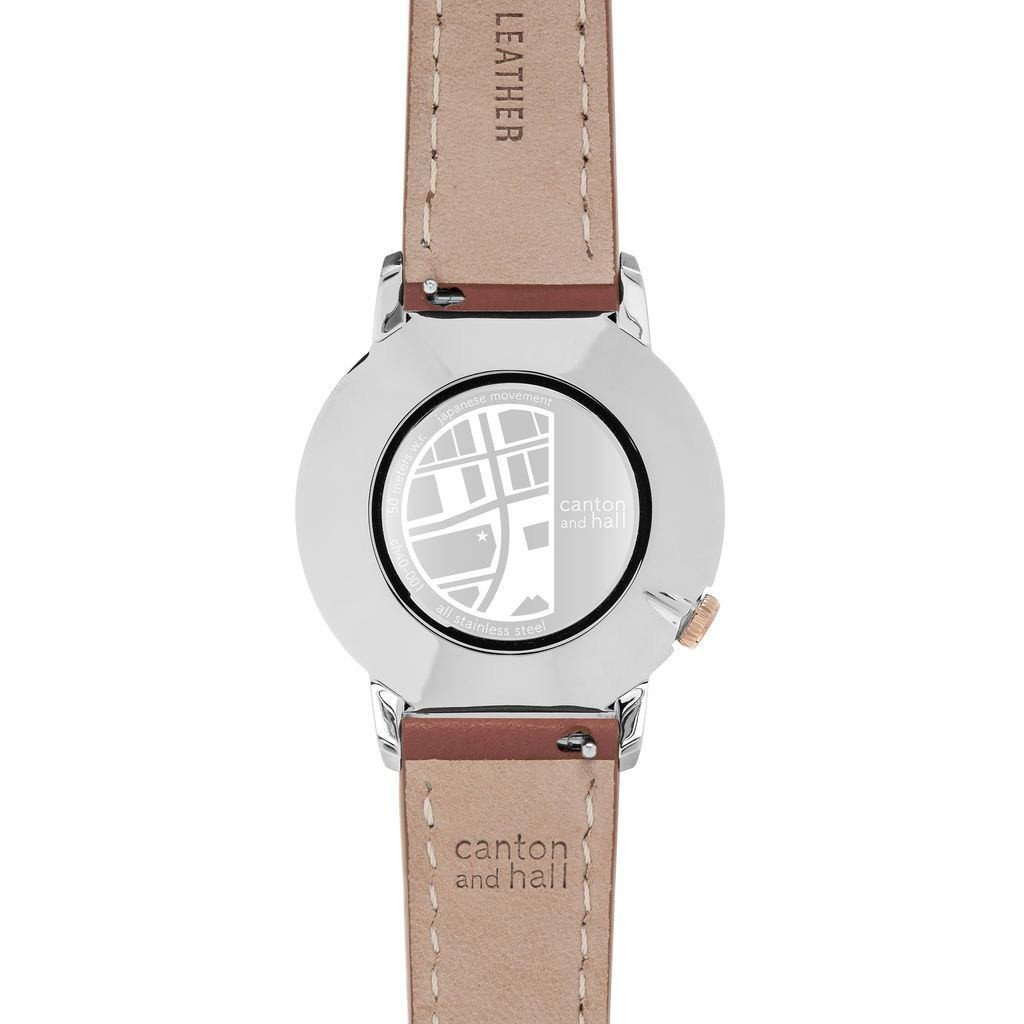 Amazon.com: Canton and Hall Deep Ellum Daytripper Watch | Brown Leather: Watches