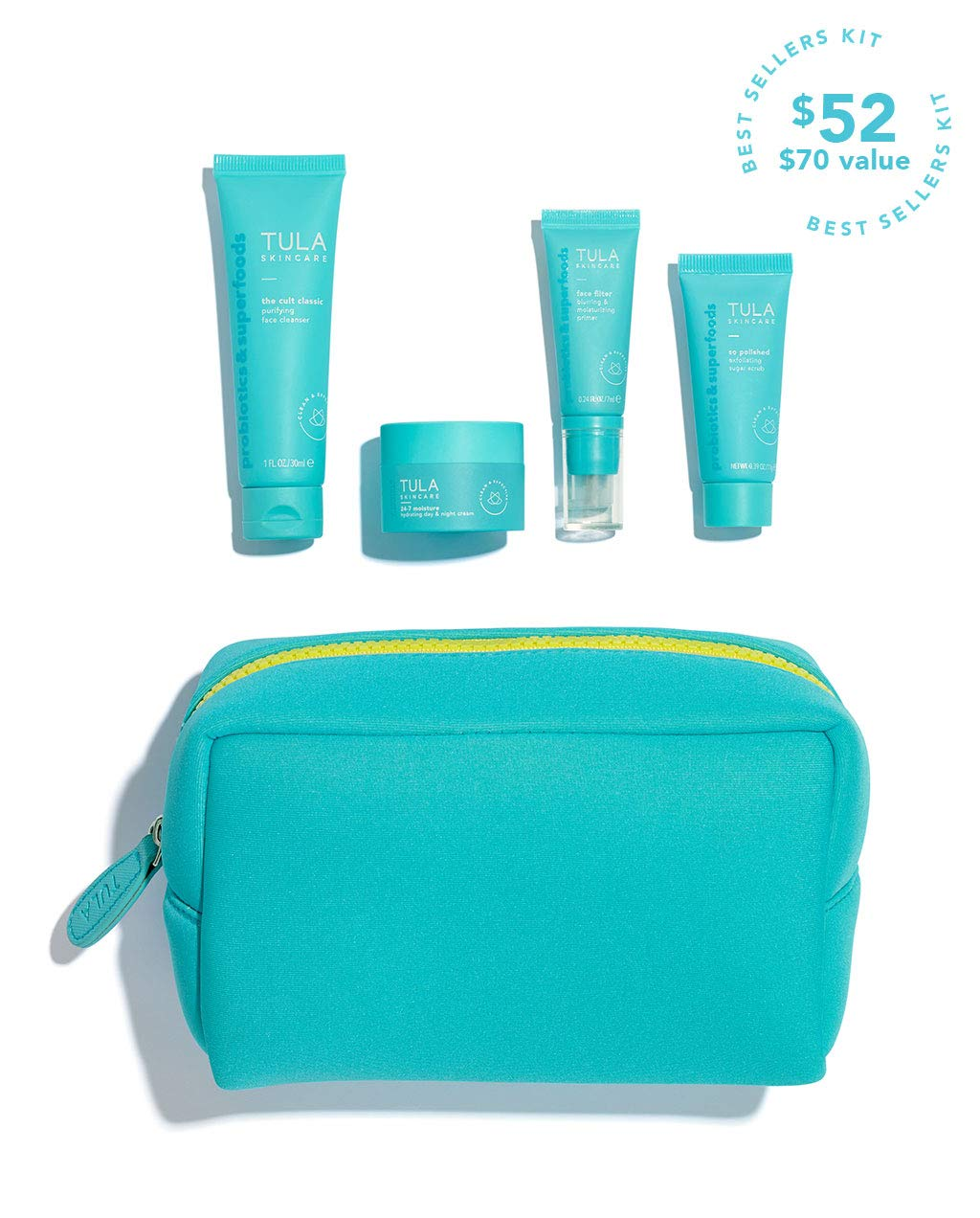 TULA Probiotic Skin Care On the Go Best Sellers Travel Kit - Reviews