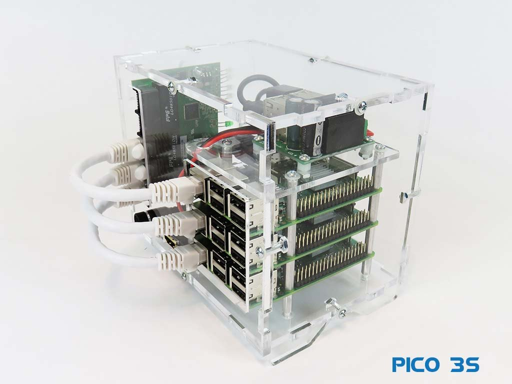 Pico 3S Raspberry PI - Starter Kit - No Storage