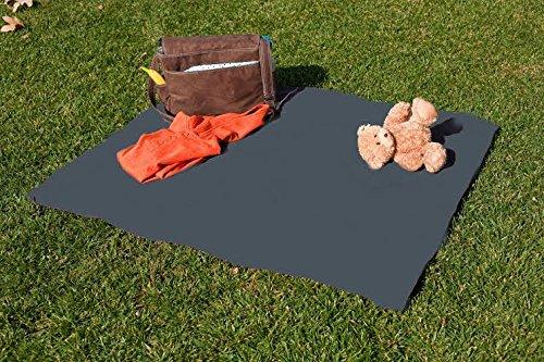 Tarpy Highchair Splat Mat, Activity & Cleanup Canvas (Gray Mist)