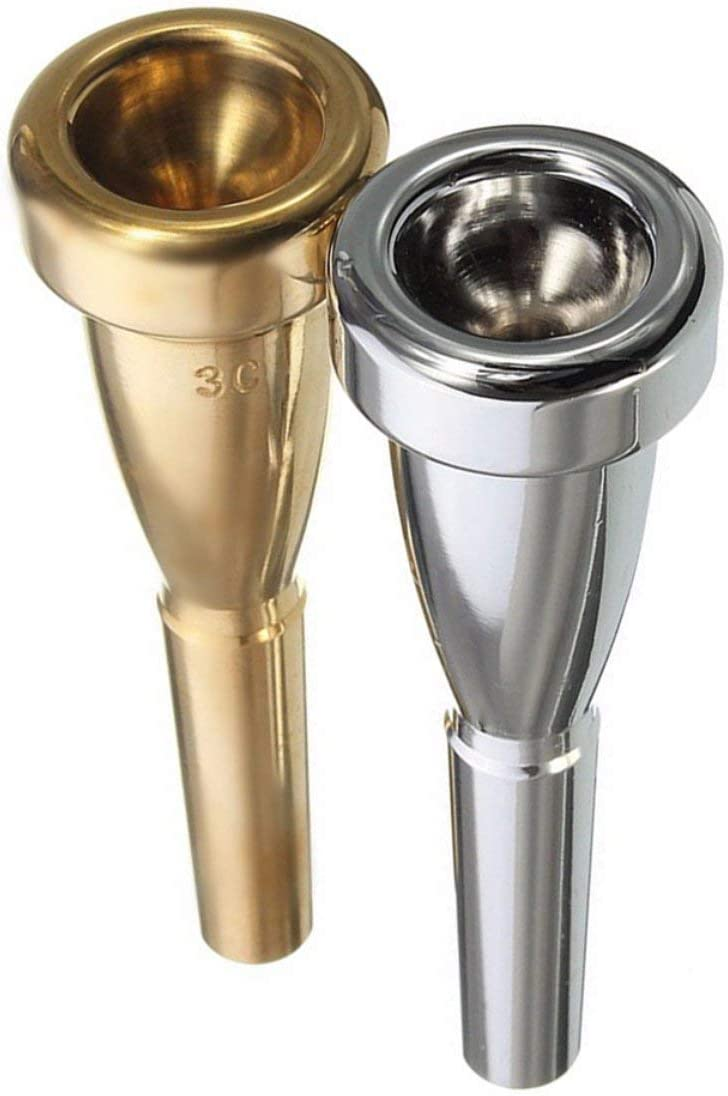 Trumpet Mouthpiece 3C Size For Yamaha For Bach Metal Trumpet Mouthpiece For High Register And C Trumpet Accessaries