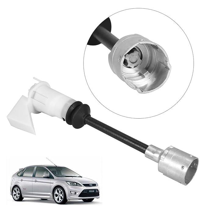 Zerone Bonnet Release Lock Set Repair Kit Lockset for Ford Focus MK2 1343577 2005-2011