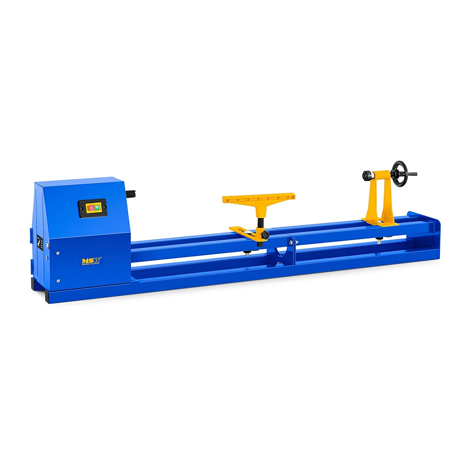 MSW Woodworking Lathe MSW-WL1000 (400 W, Length: 1010 mm, Ø 300 mm, 4 Rotation speeds up to 2,508 r/min, Idle Speed: 1,470 r/min) Ø 300 mm MSW Motor Technics