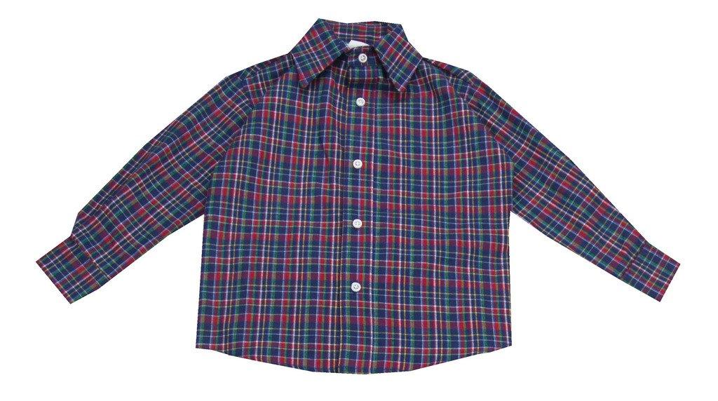 Glorimont Royal Plaid Shirt- Boy's Size 10