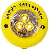 Brauns-Heitmann 7095 - LED Kürbislicht, Gelbes Licht, batteriebetrieben