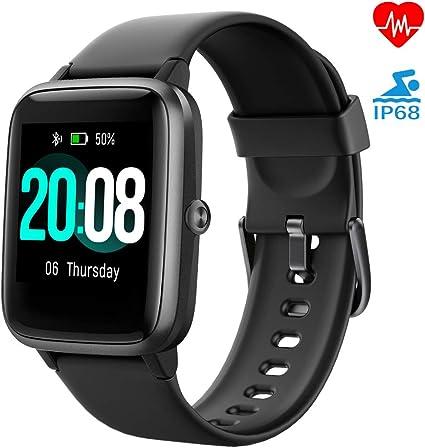 LIFEBEE Smartwatch, Reloj Inteligente Impermeable IP68 para Hombre ...