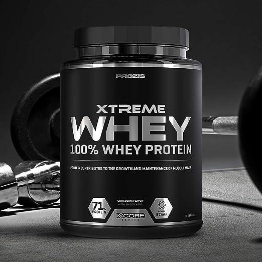 Prozis Xtreme Whey Protein SS Aumenta el Crecimiento y el ...