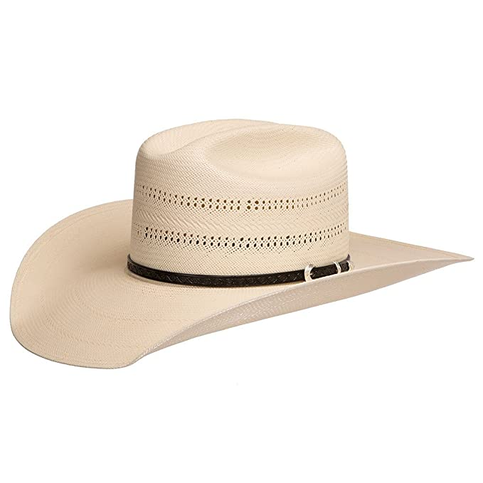 e5239a6b0d7 Stetson Hats Mens 10X Southpoint 4 1 2 Brim Straw Hat at Amazon ...