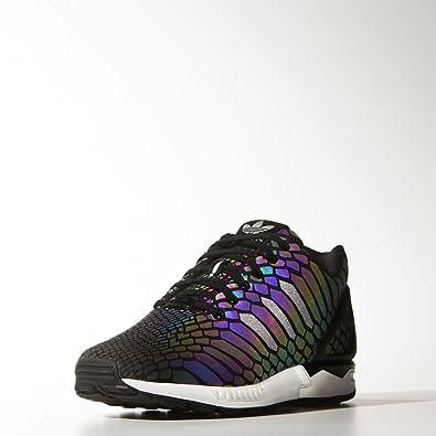 Adidas Basket ZX Flux Noir 3D Réfléchissante