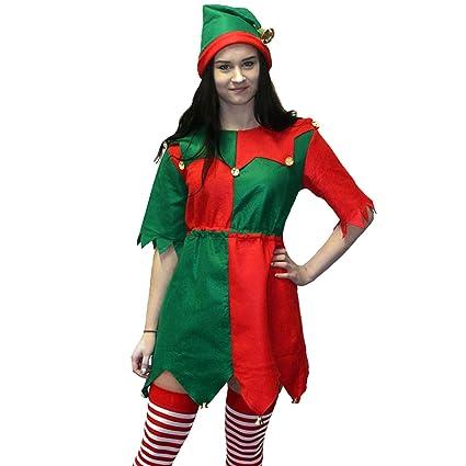 Morph Elfa de Taller de Juguetes de Navidad Disfraz - X ...