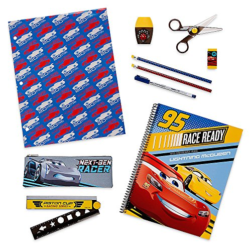 Disney Cars 3 Stationery Supply Kit