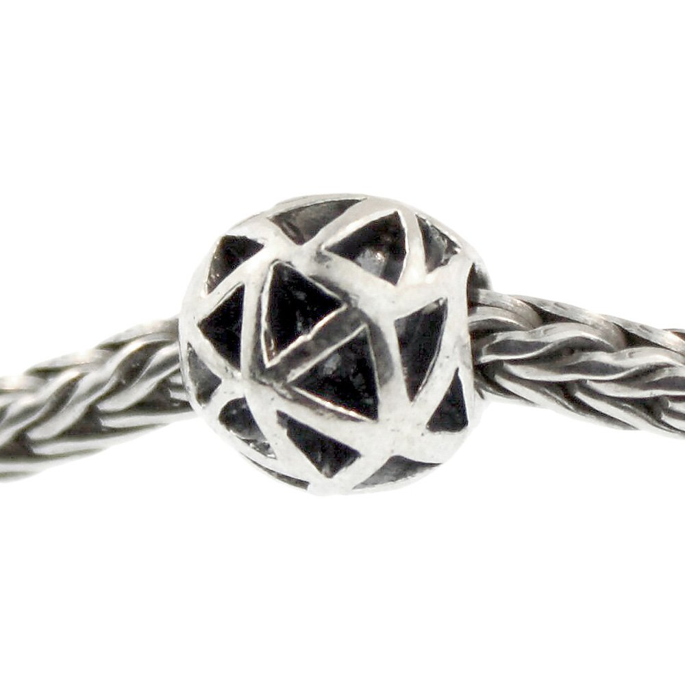 Authentic Trollbeads Sterling Silver 11205 Triangles