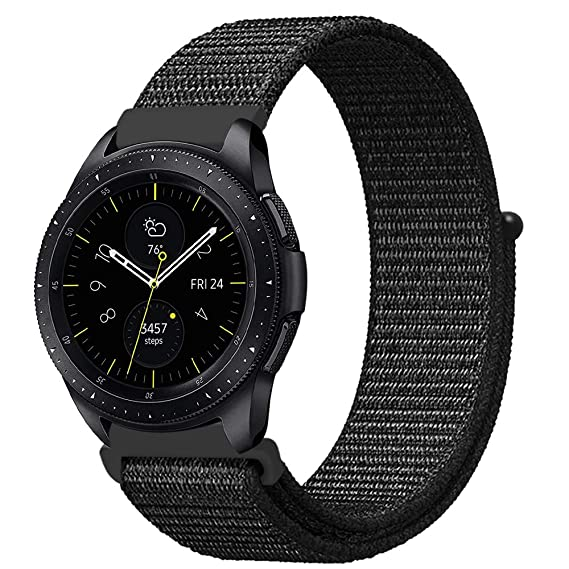 4113ce036 Fintie Band for Galaxy Watch 42mm & Galaxy Watch Active & Gear Sport, 20mm  Quick
