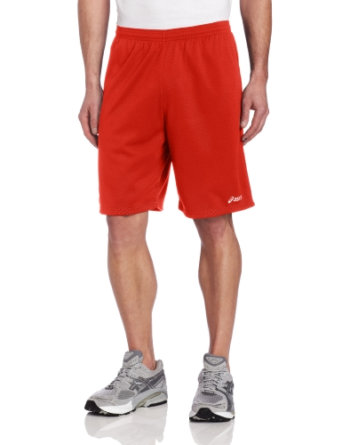(ASICS Men's Cradle Short, Red, Large)