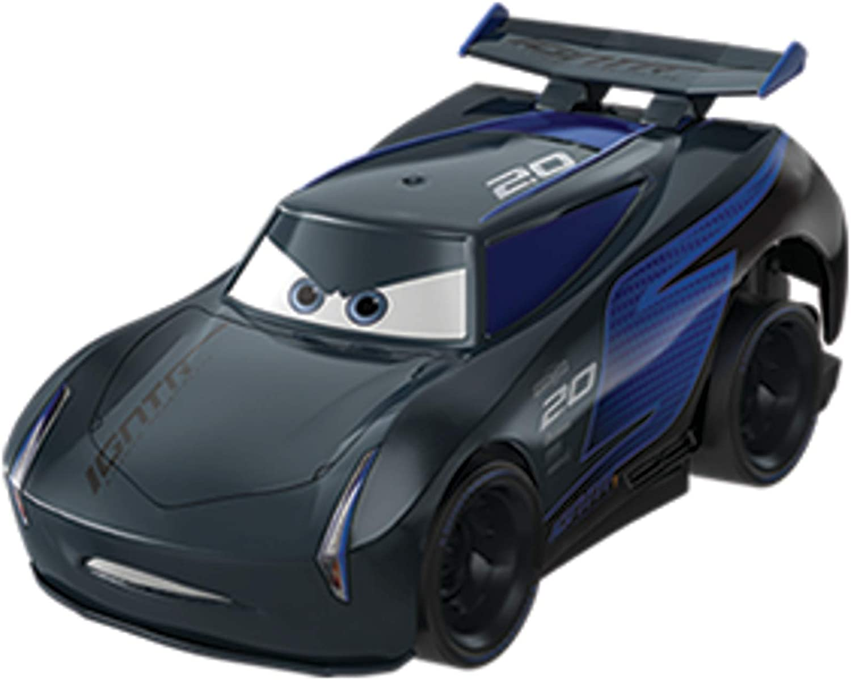 Mattel Disney Cars-Vehículo Turbocarreras Jackson Storm, coches de juguetes niños +3 años, multicolor FYX41 , color/modelo surtido