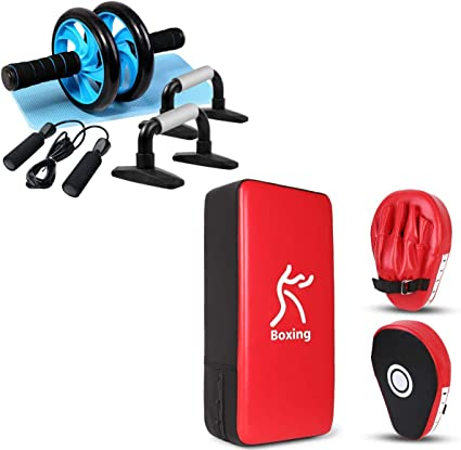 Trainer Core Fitness Strength Training Focus Pads Boxing Gloves Gym Exercise