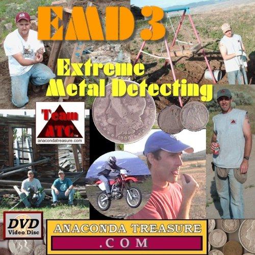 EMD3 Extreme Metal Detecting 3 DVD Video
