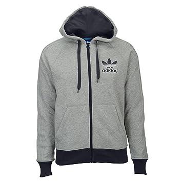 Adidas Originals Sport Essentials Men s Hoodie Medium Grey Heather s89959  (Size ... 71307c778a19