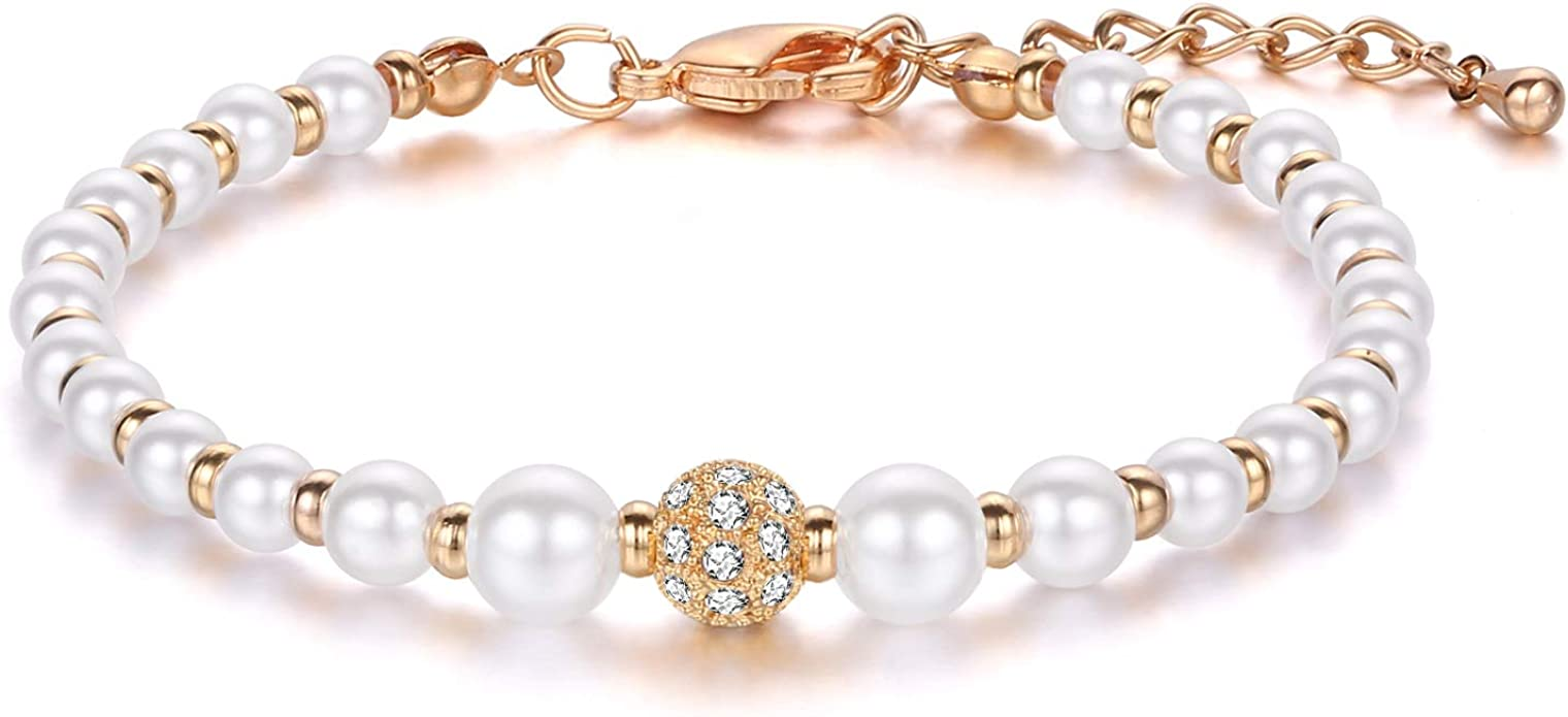 Gold Color Crystal Slave Double Layer Bracelet Gifts for Her