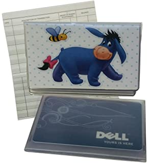 colorful cats checkbook with check register wallet photo insert