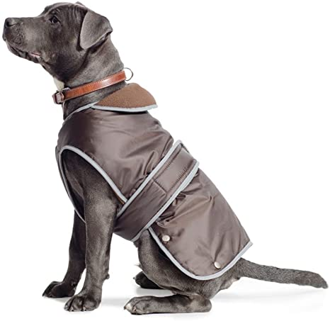 Ancol Muddy Paws Coat And Chest Protector, Xxl, Chocolate
