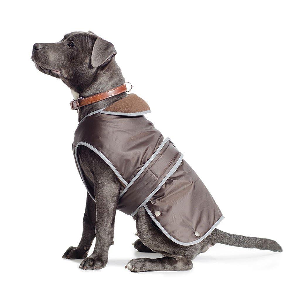 Ancol Pet Products Muddy Paws - Cappotto Stormguard con finiture riflettenti per cani