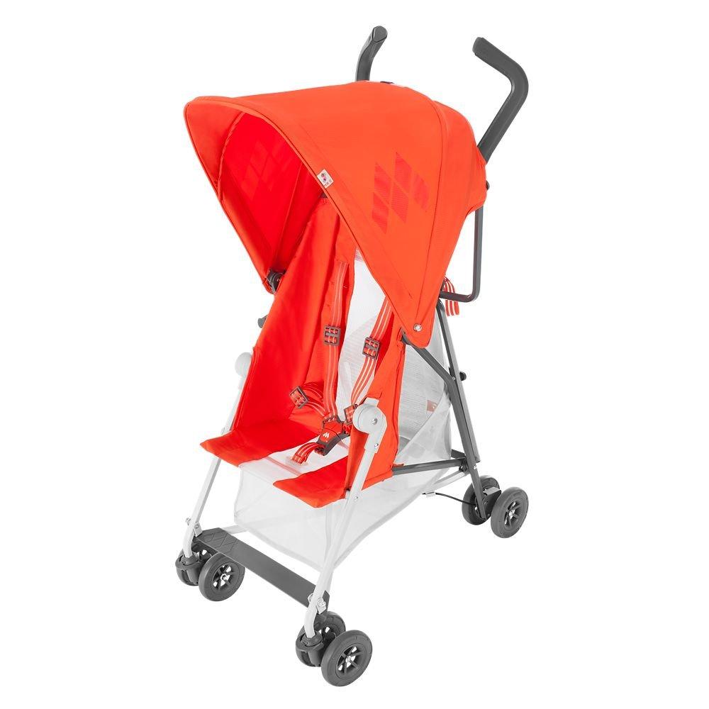 Maclaren Mark II with Recline Stroller, Spicy Orange WD1G100792