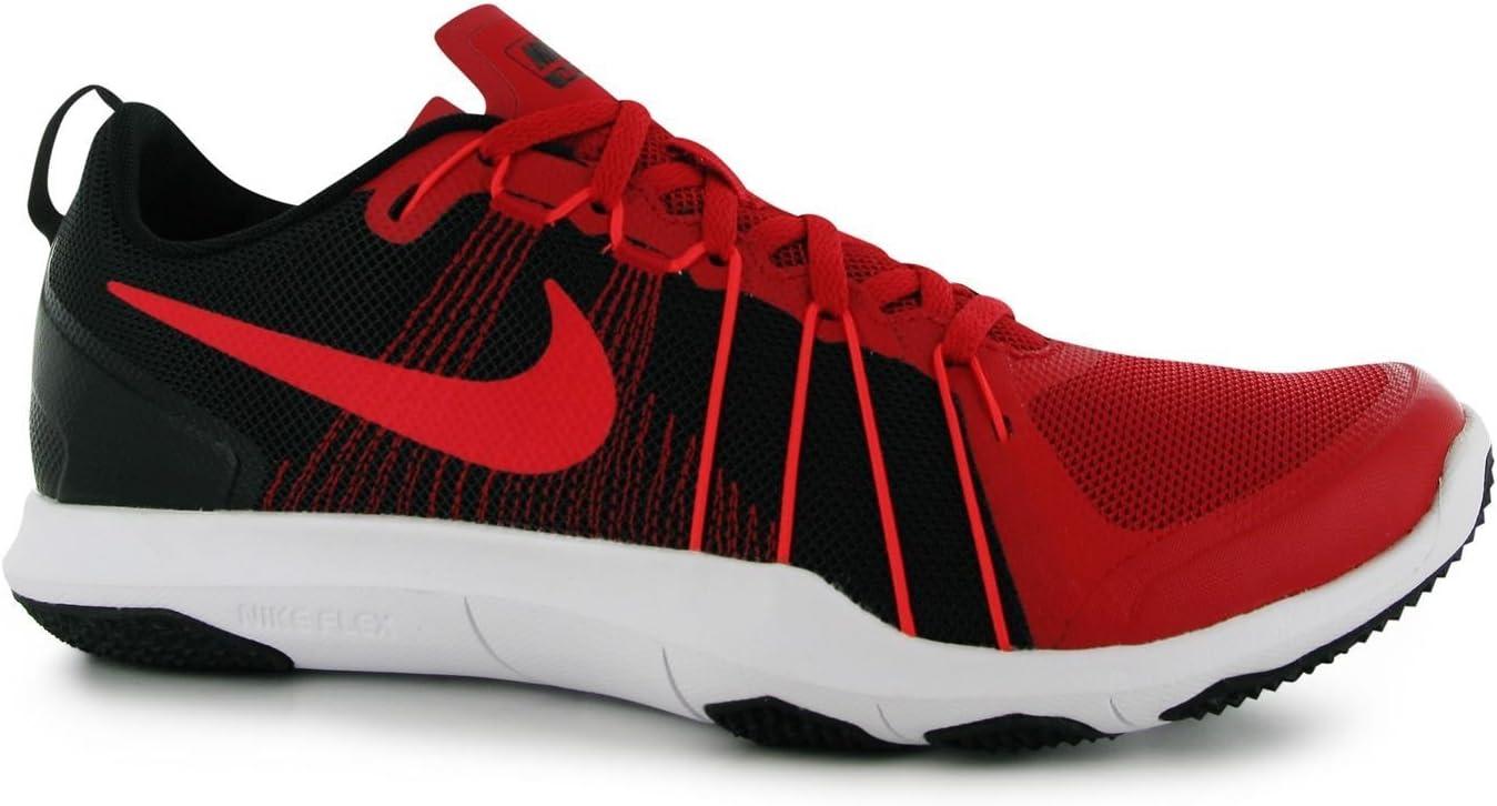 Nike Flex TR Aver Zapatillas de Entrenamiento para Hombre Rojo/Negro Deportes Fitness Zapatillas Zapatillas, Rojo/Negro: Amazon.es: Deportes y aire libre