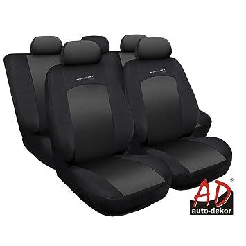 Sitzbezüge Sitzbezug Schonbezüge für Ford Fusion Blau Sportline Komplettset