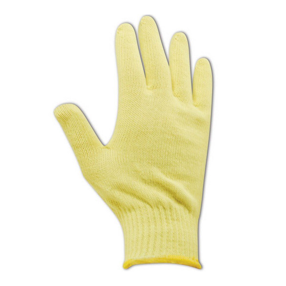 10 Ladies Magid Glove /& Safety 13680-KV-KRB Magid Cut Master High Density 100/% Kevlar 500 Machine Knit Gloves Fits Medium Pack of 12 Yellow